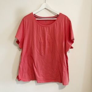 Tommy Hilfiger red t shirt